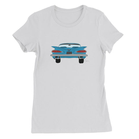 Blue Impala Front Womens Favorite T-Shirt