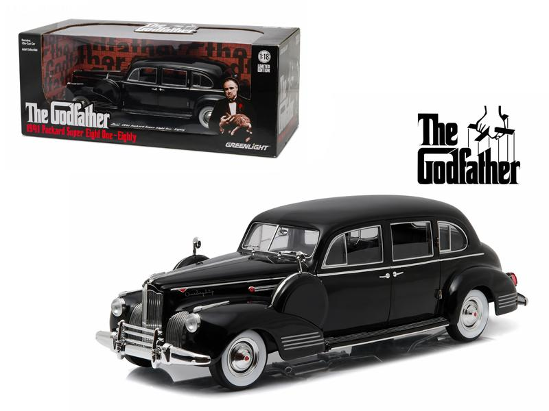 "1941 Packard Super Eight One-Eighty \The Godfather"" (1972) 1/18 Diecast Model Car by Greenlight"""