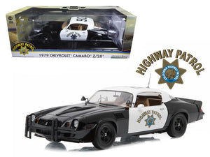 1979 Chevrolet Camaro Z/28 California Highway Patrol Hardtop (CHP) 1/18 Diecast Model Car by Greenlight