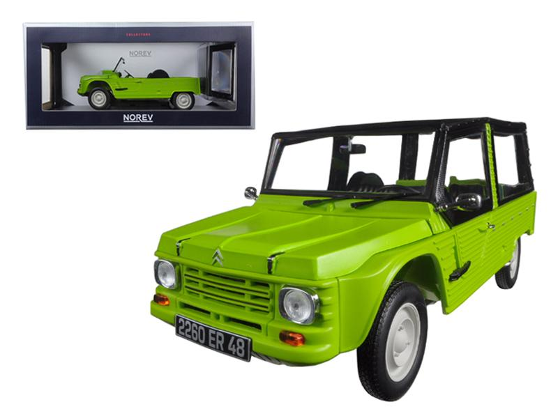 1983 Citroen Mehari Tibesti Green 1/18 Diecast Model Car by Norev
