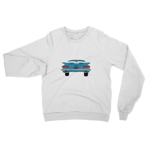 Blue Impala Front Womens Sweatshirt