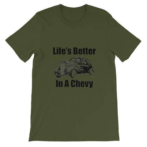 Life's better in a Chevy Short Sleeve T-shirt