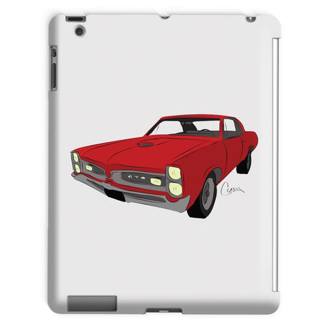 Image of '66 GTO Red No Slogan Tablet Case