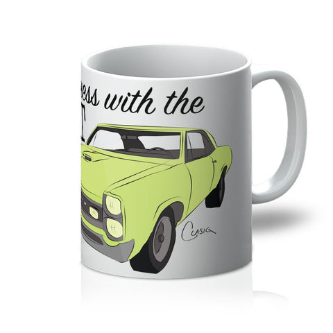 Image of '66 Green GTO Front Mug
