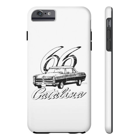 '66 Pontiac Catalina Case Mate Tough Phone Cases