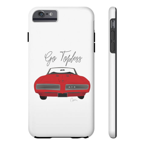 Image of '68 Pontiac GTO Case Mate Tough Phone Cases