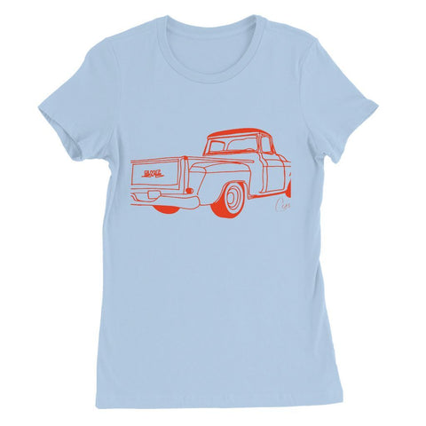Red GMC Truck Womens Favorite T-Shirt