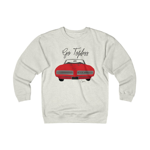 Image of '68 Pontiac GTO Heavyweight Fleece Crew Sweatshirt