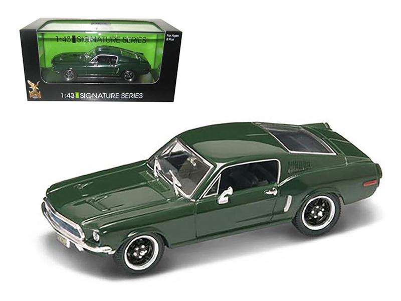 1968 Ford Mustang GT Green 1/43 Diecast Car Model Signature Series by Road Signature