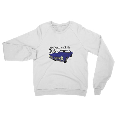 '66 Blue GTO Front Womens Sweatshirt