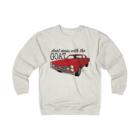 Image of '66 Pontiac GTO Heavyweight Fleece Crew Sweatshirt