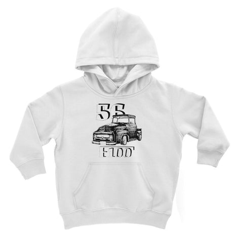 Image of 1956 Ford F-100 Truck Kids Hoodie