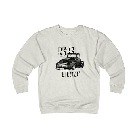 Image of '56 Ford F100 Heavyweight Fleece Crew Sweatshirt