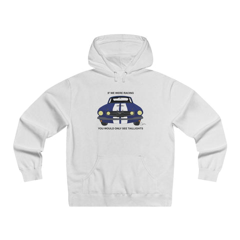 Mustang Men's Lightweight Pullover Hooded Sweatshirt