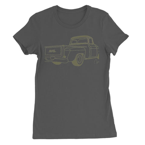 Green GMC Truck Womens Favorite T-Shirt