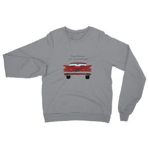 Red Impala Slogan Front Womens Sweatshirt