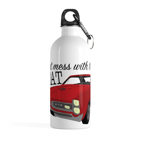 '66 Pontiac GTO Stainless Steel Water Bottle