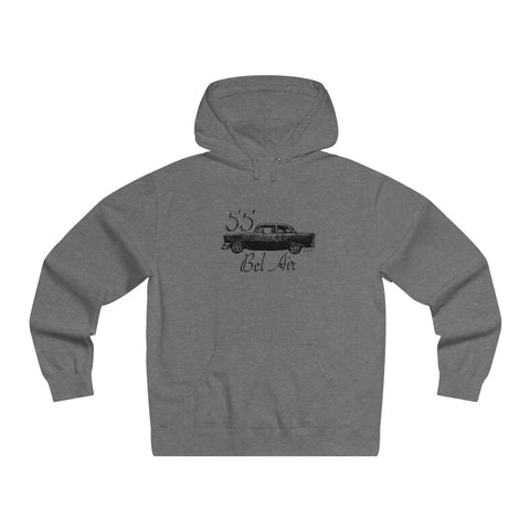 '55 Bel Air Men's Lightweight Pullover Hooded Sweatshirt