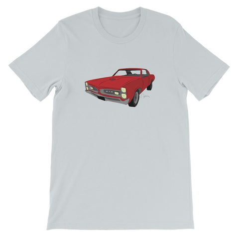 '66 GTO Red No Slogan Kids T-Shirt
