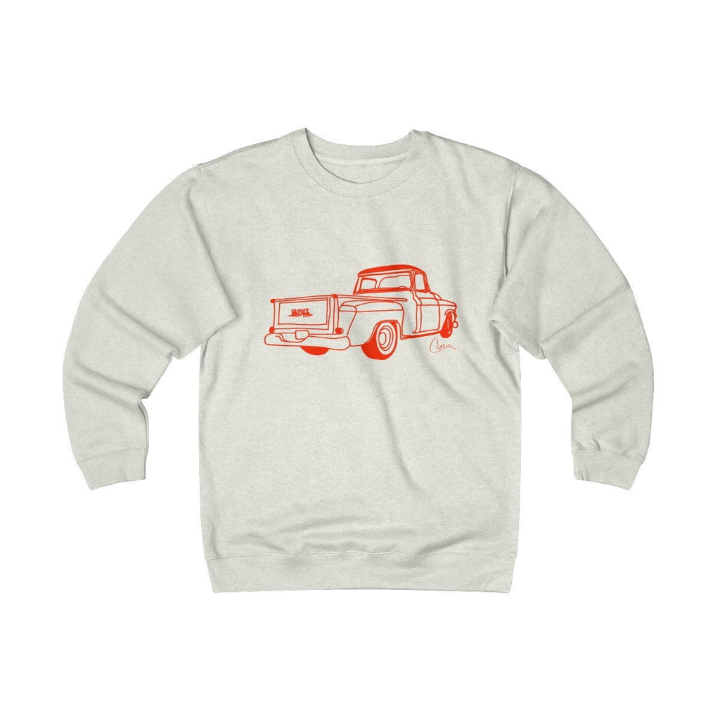 GMC Truck Heavyweight Fleece Crew Sweatshirt