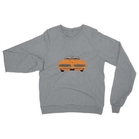 '68 GTO Orange No Slogan Womens Sweatshirt