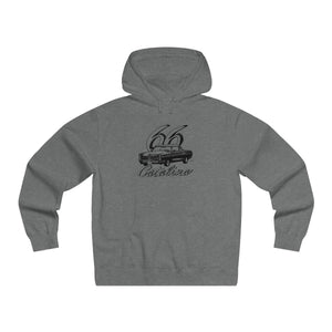 '66 Pontiac Catalina Men's Lightweight Pullover Hooded Sweatshirt