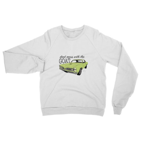 '66 Green GTO Front Womens Sweatshirt