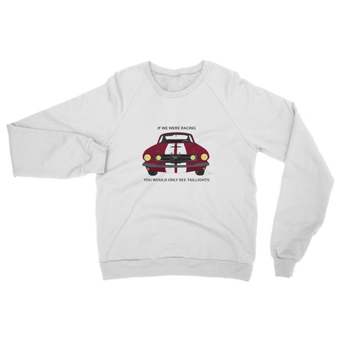 '66 Red Mustang Front Womens Sweatshirt