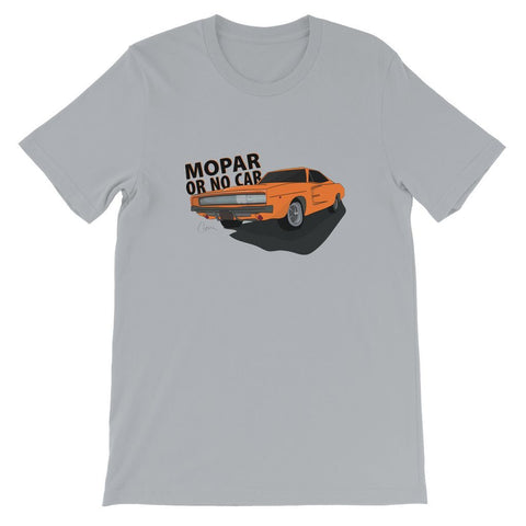 '68 Charger Orange Front Print Kids T-Shirt