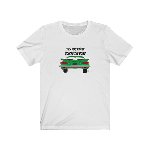 Image of New Unisex Jersey Short Sleeve Tee Mustang
