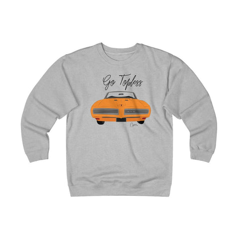 '68 Pontiac GTO Heavyweight Fleece Crew Sweatshirt