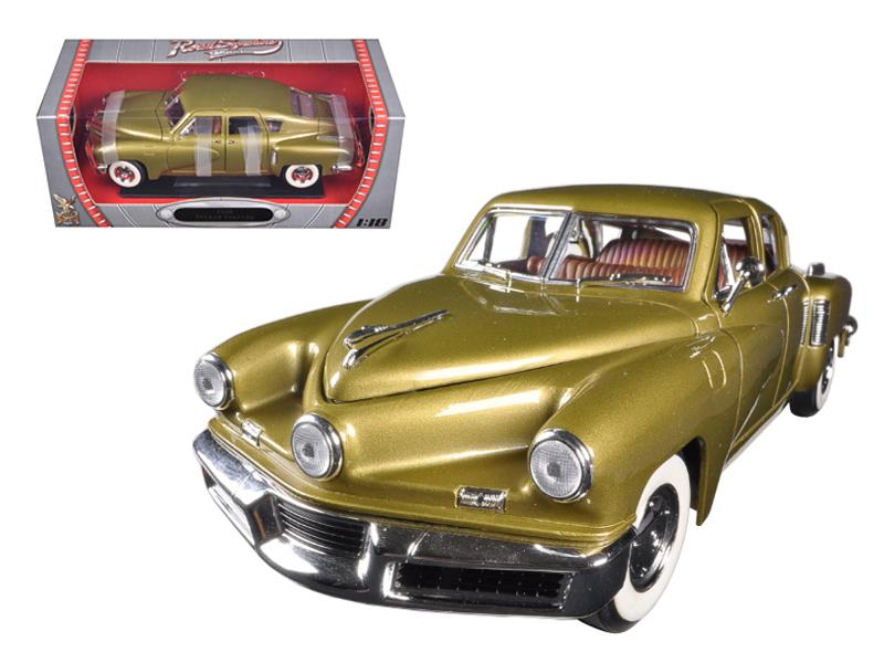 1948 Tucker Torpedo Gold 1/18 Diecast Model Car by Road Signature