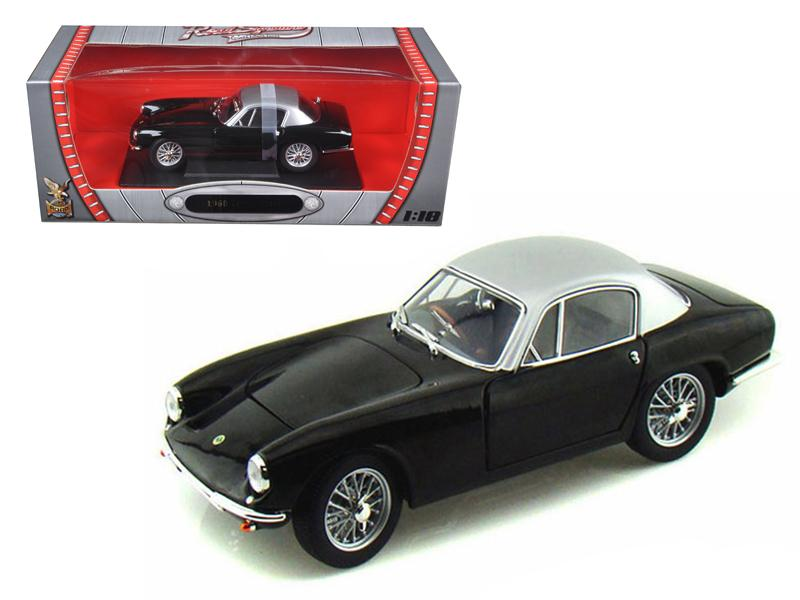 1960 Lotus Elite Black 1/18 Diecast Model Car by Road Signature