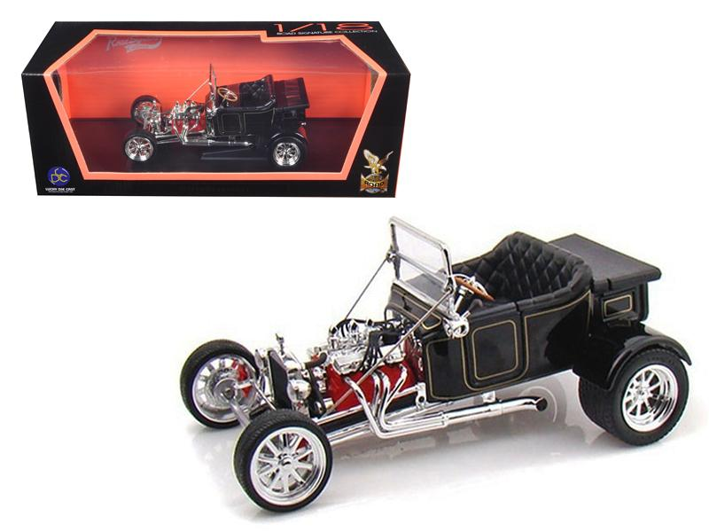 1923 Ford T-Bucket Roadster Black 1/18 Diecast Car Model by Road Signature