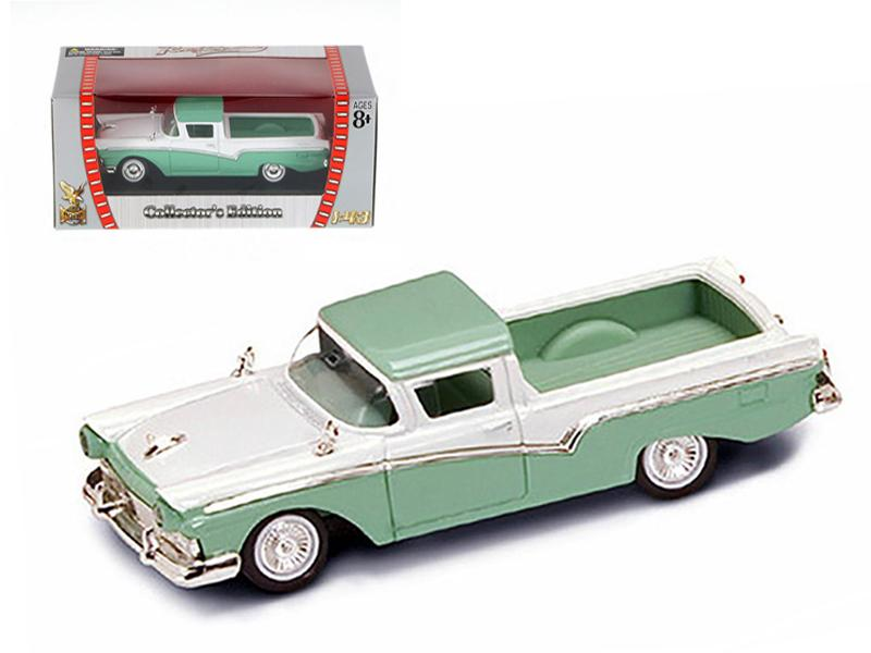 1957 Ford Ranchero Green 1/43 Diecast Model Car by Road Signature