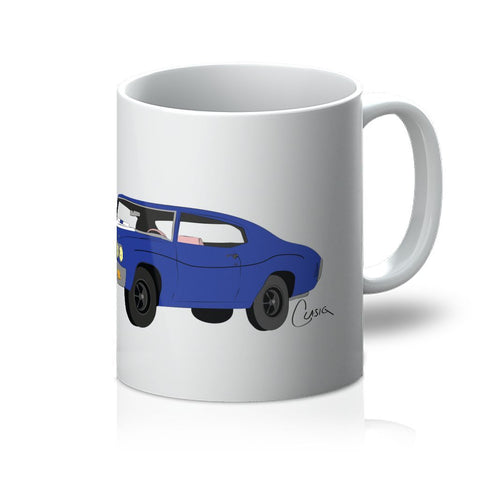 '70 Chevelle Blue No Slogan Mug