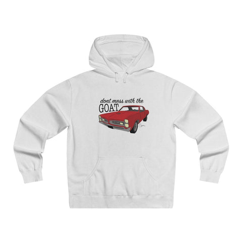 Image of '66 Pontiac GTO Men's Lightweight Pullover Hooded Sweatshirt