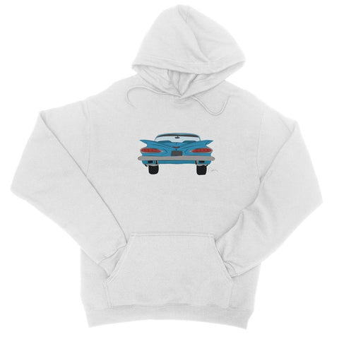 Blue Impala Front College Hoodie