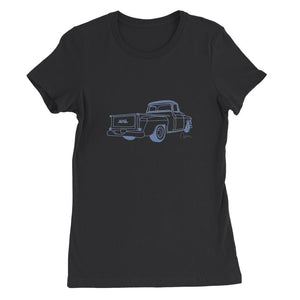 Blue GMC Truck Womens Favorite T-Shirt