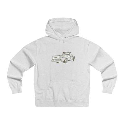 GMC Truck Men's Lightweight Pullover Hooded Sweatshirt