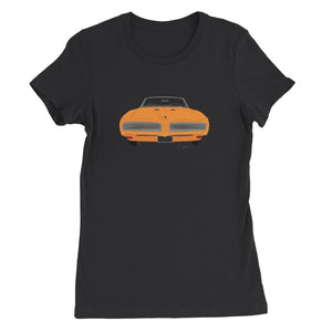 '68 GTO Orange No Slogan Womens Favorite T-Shirt