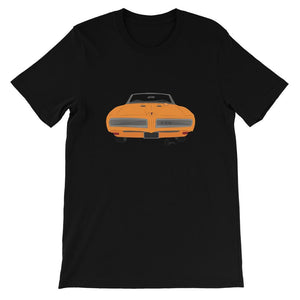 '68 GTO Orange No Slogan Kids T-Shirt