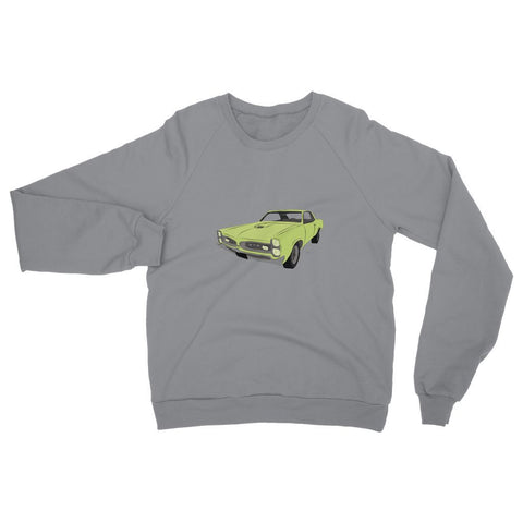 '66 GTO Green No Slogan Womens Sweatshirt