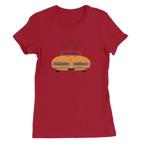 '68 GTO Orange Front Print Womens Favorite T-Shirt