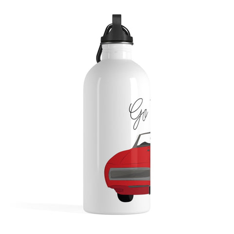 '68 Pontiac GTO Stainless Steel Water Bottle