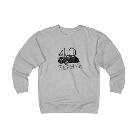 Image of '40 Zephyr Heavyweight Fleece Crew Sweatshirt