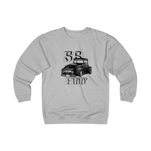 '56 Ford F100 Heavyweight Fleece Crew Sweatshirt