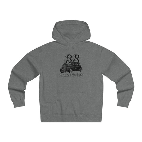 Image of '38 Chevrolet Master Deluxe Men's Lightweight Pullover Hooded Sweatshirt