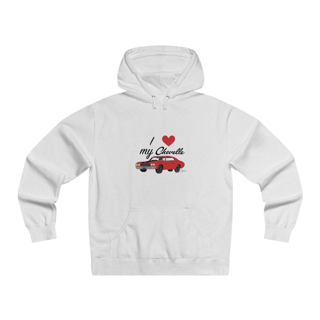 Chevelle Men's Lightweight Pullover Hooded Sweatshirt