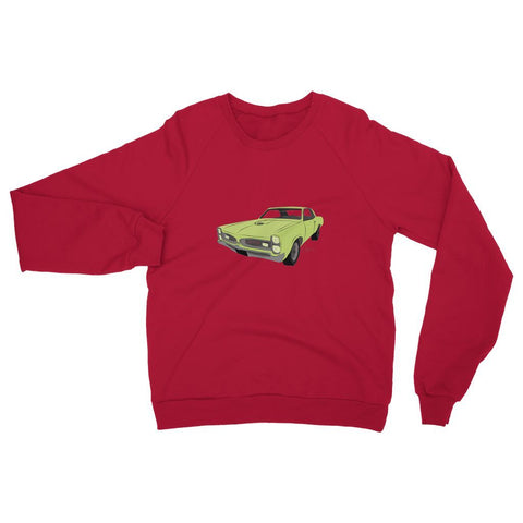 Image of '66 GTO Green No Slogan Sweatshirt